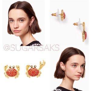 Kate Spade Shore Thing Crab Earrings